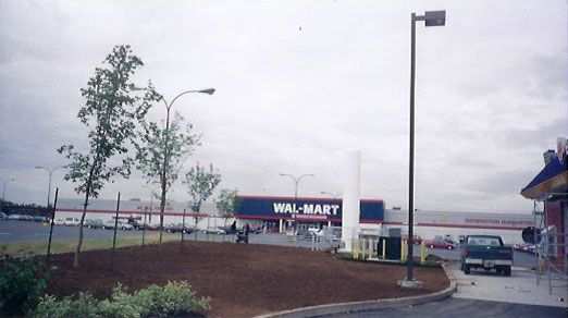 wallmart landscaping